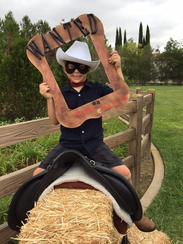 kinderfeest cowboy fotoframe