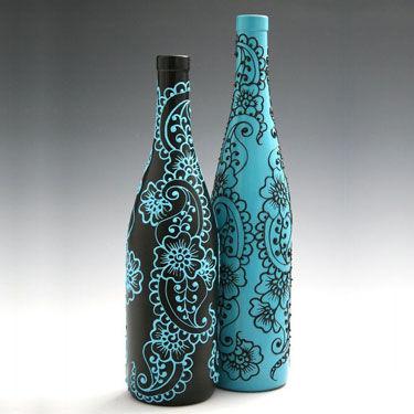 Vaas met Zentangles